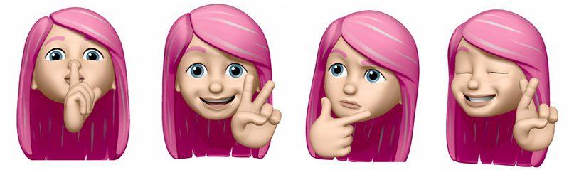 """iOS 13 """"拟我表情""""可在微信上使用:开启斗图模式"""
