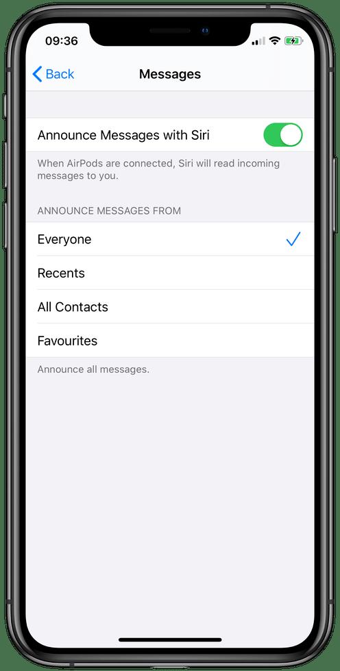 iOS 13 教程:什么是 Siri 朗读消息?如何自定义信息提示?