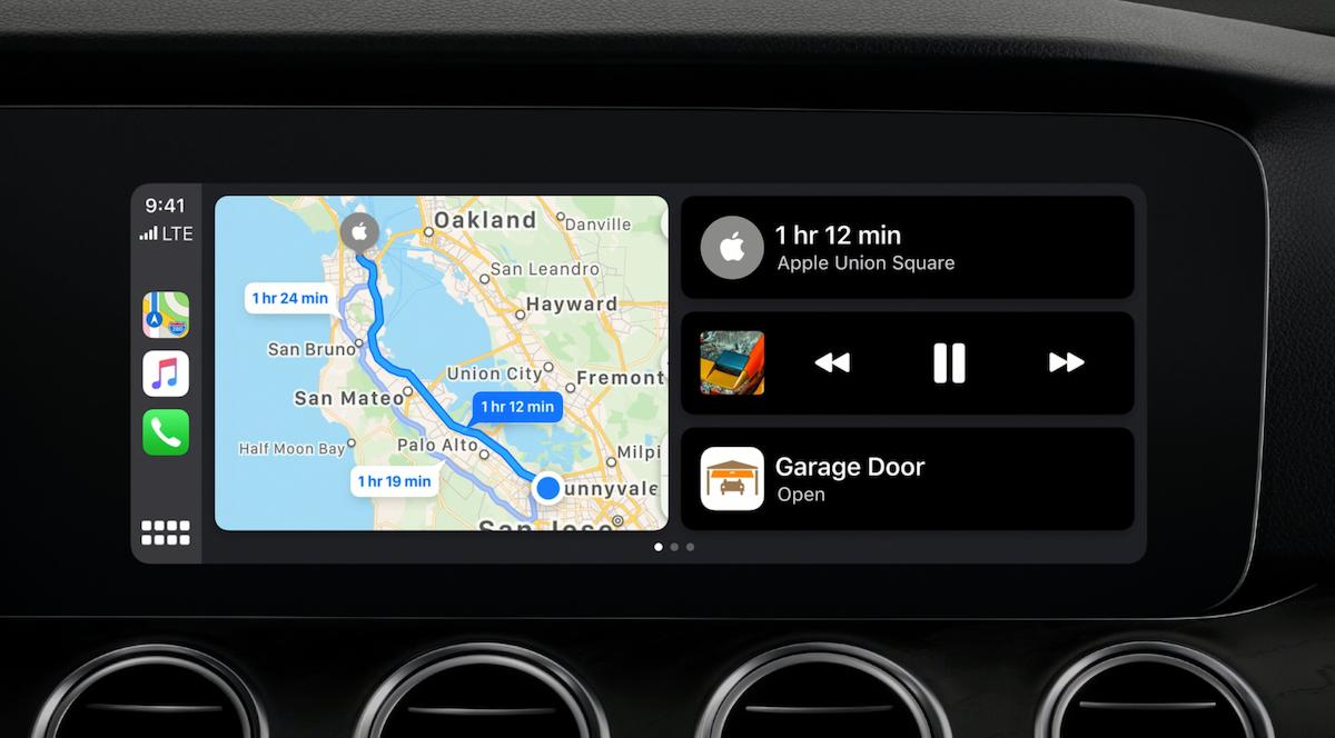 iOS 13 CarPlay 新体验:和 iPhone 一样支持暗色模式
