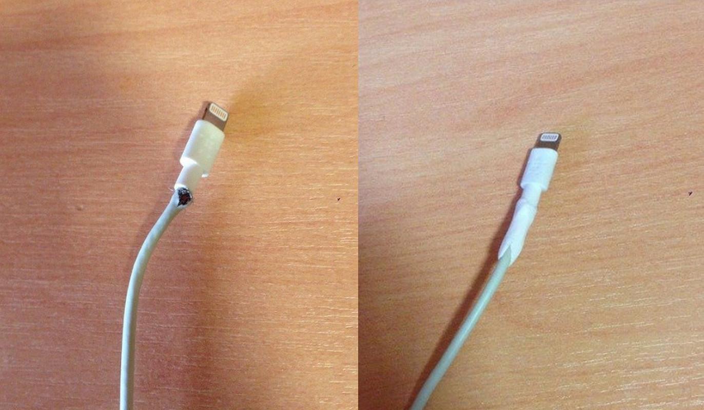 两个小技巧,教你修复 iPhone XS 边框磨损、数据线破裂