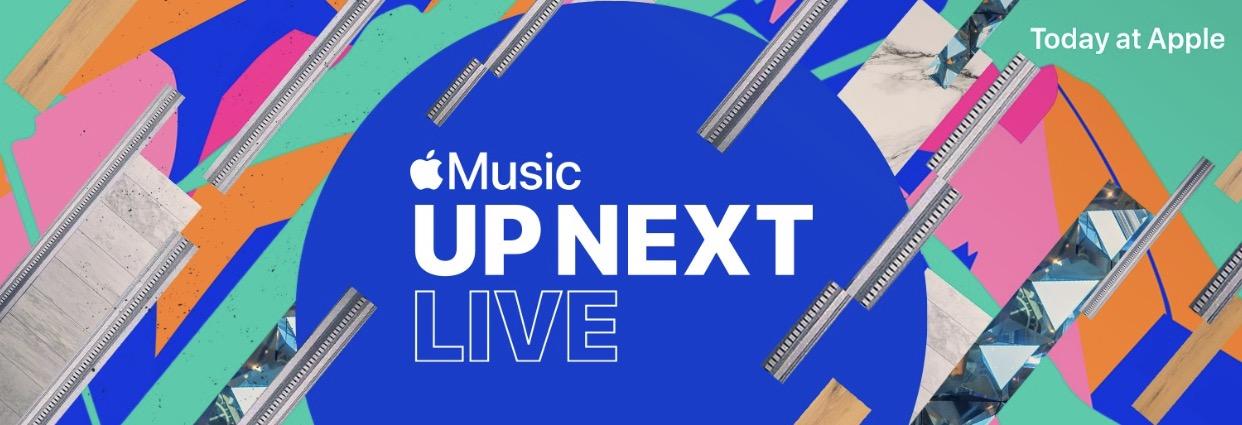 全球多个城市 Apple Store 将于夏季举行 Up Next Live 演唱会