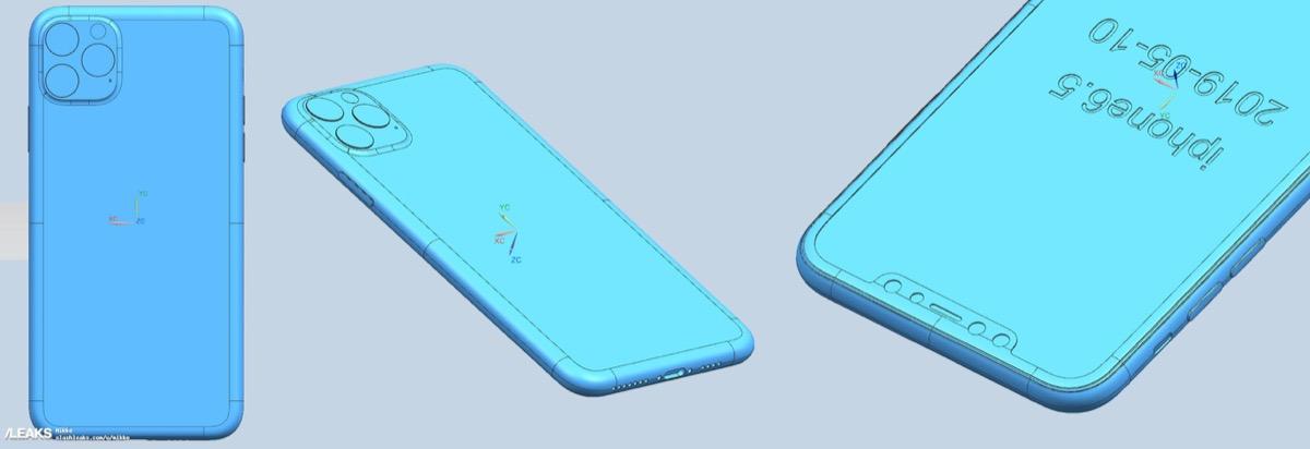 疑似 2019 款 iPhone 11 CAD 工程图曝光
