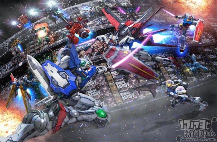 万代南梦宫公布高达系列手游新作《高达破坏者MOBILE》