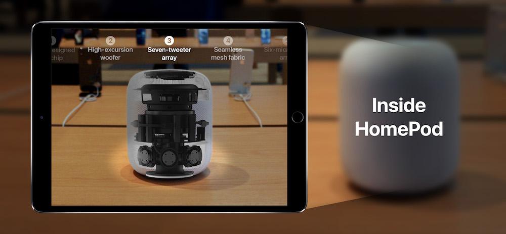 ARKit 推出这么久,苹果自家 Apple Store 用上 AR 了吗?