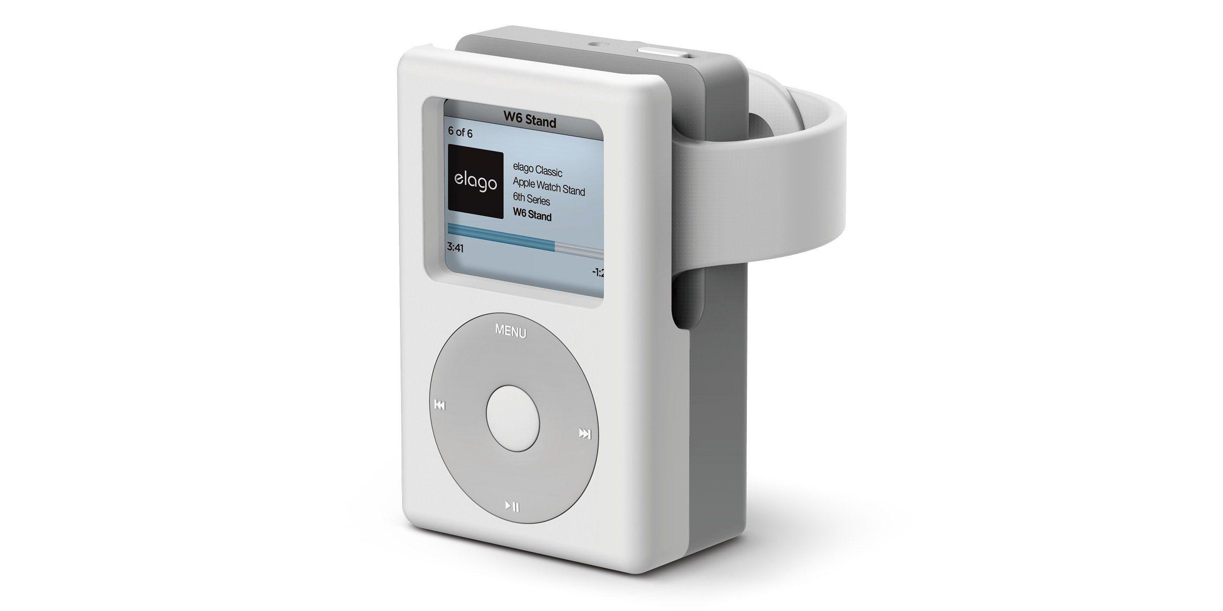 利用这款充电支架,可将 Apple Watch 伪装成 iPod