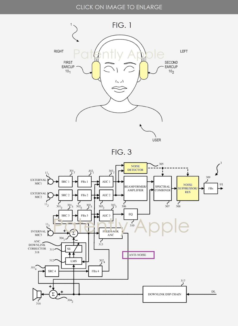 苹果获耳机新专利,或在今年发布头戴式降噪耳机