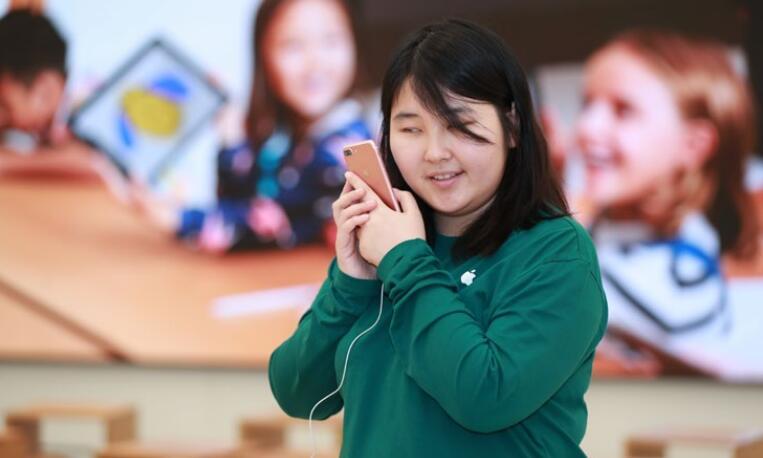 苹果公布年度中国企业责任报告:已在华提供 500 万个岗位