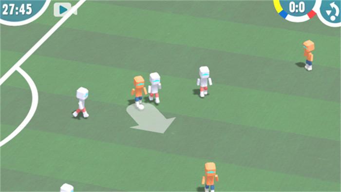 单指即可畅快踢球 《机器人足球》上架安卓平台