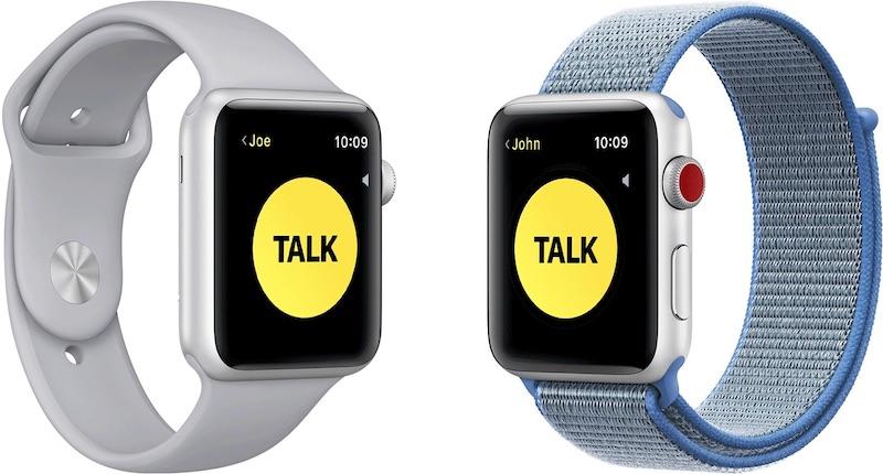 苹果临时禁用 Apple Watch 对讲机功能,存在窃听风险