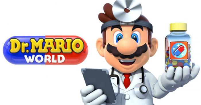 手游《马力欧医生世界》发售三天下载量超200万,收入仅10万美元