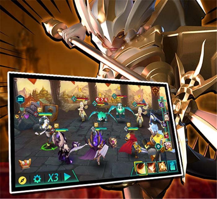 3D技能卡牌手游《卡拉希尔战记》7月19日全平台公测开启
