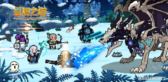 Roguelike卡通像素风的RPG《星屑之塔》前瞻