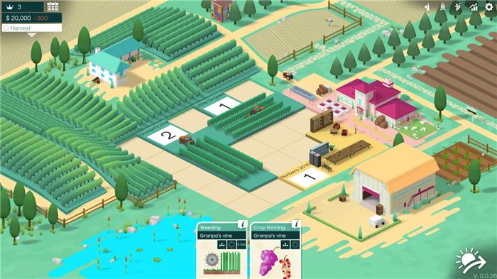 葡萄酒庄经营模拟游戏 《Hundred Days》公布