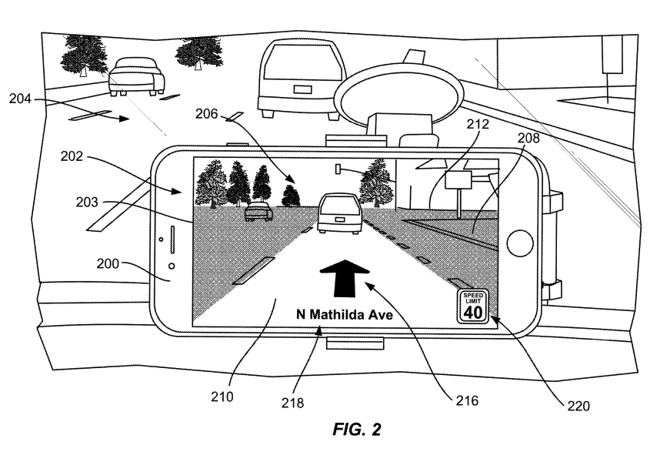 苹果提交 AR 地图专利:为驾驶员提供更高效的导航信息