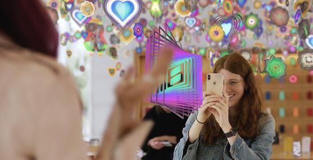 Today at Apple 添新课程:苹果与艺术家帮用户入门 AR