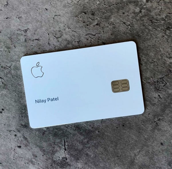 苹果 Apple Card 信用卡开始发行:买自家产品返现