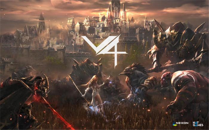 更多视角 MMORPG新作《V4》公开游戏最新影片