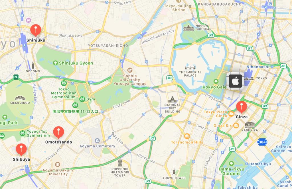 日本全新 Apple Store 即将开业:位于东京丸之内区