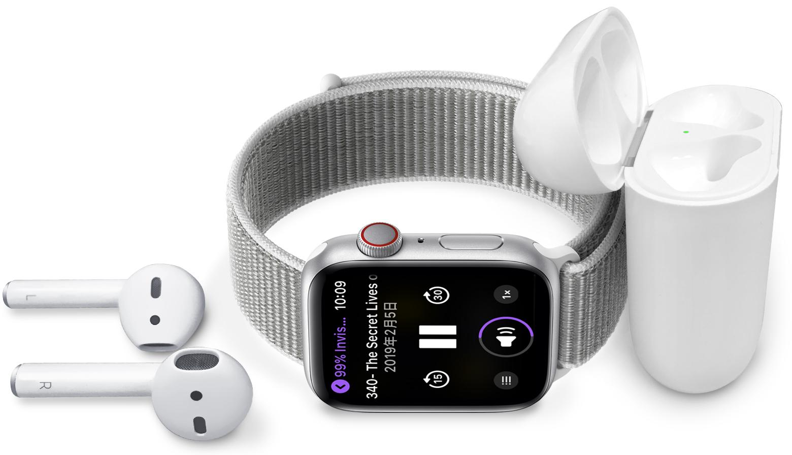 无需 iPhone,如何使用 Apple Watch 收听音乐?