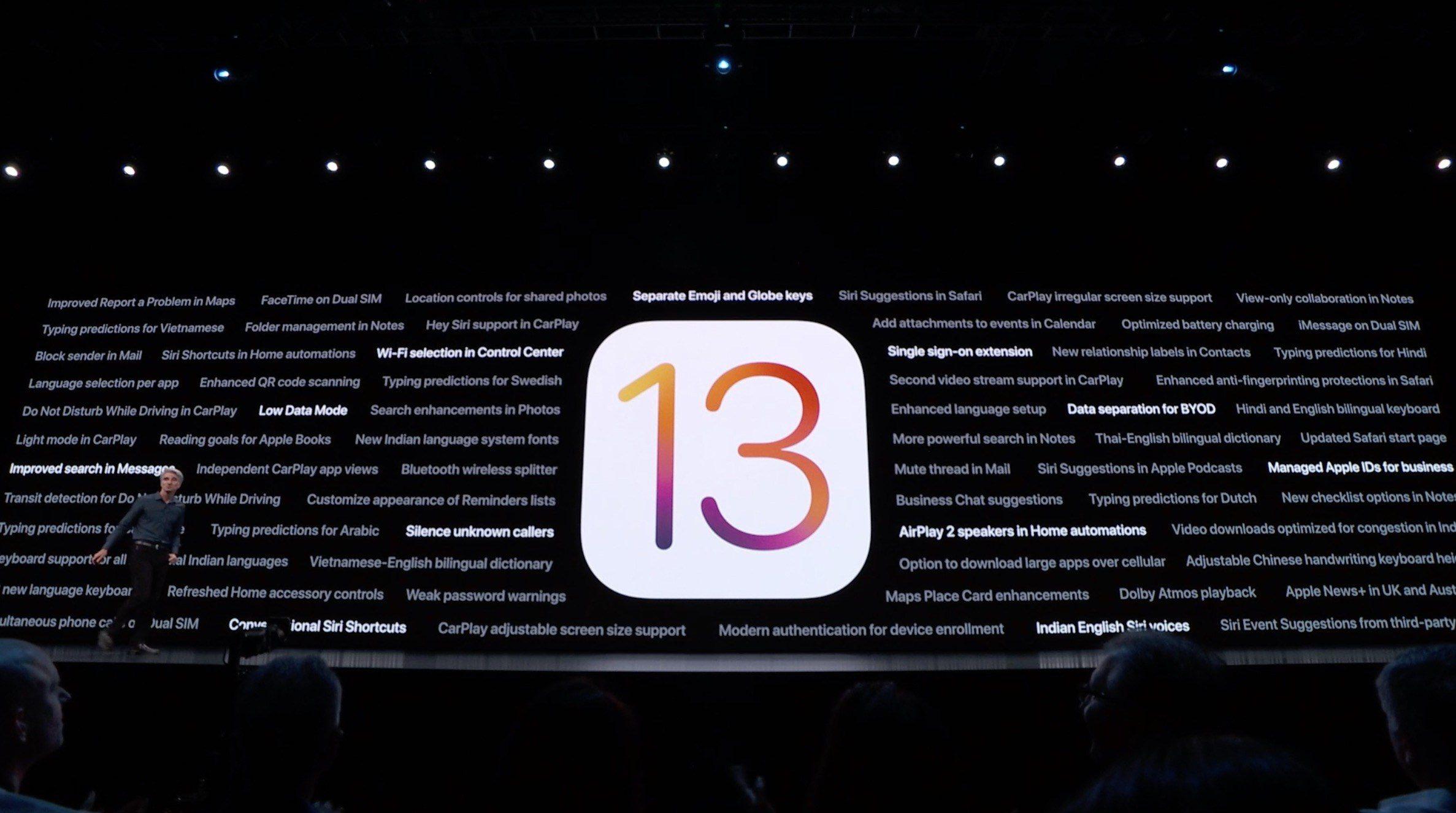 苹果将于 9 月 20 日推送 iOS 13 正式版