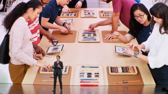 苹果提升 Apple Store 店内体验,推 iPhone 以旧换新项目
