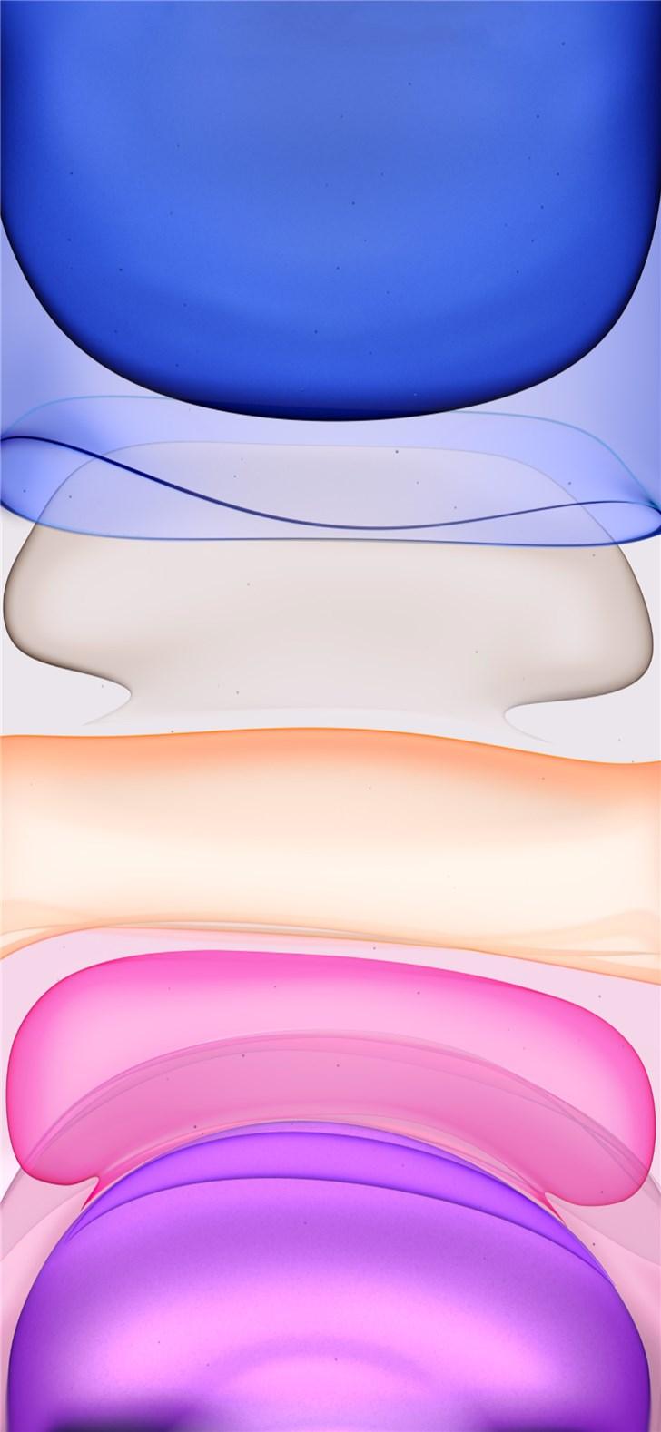苹果 iPhone 11 原生主题壁纸分享