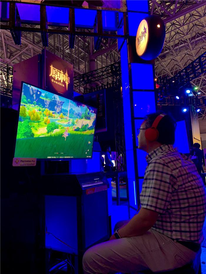 吉田修平或成《原神》头号粉丝 TGS现场邀请玩家试玩
