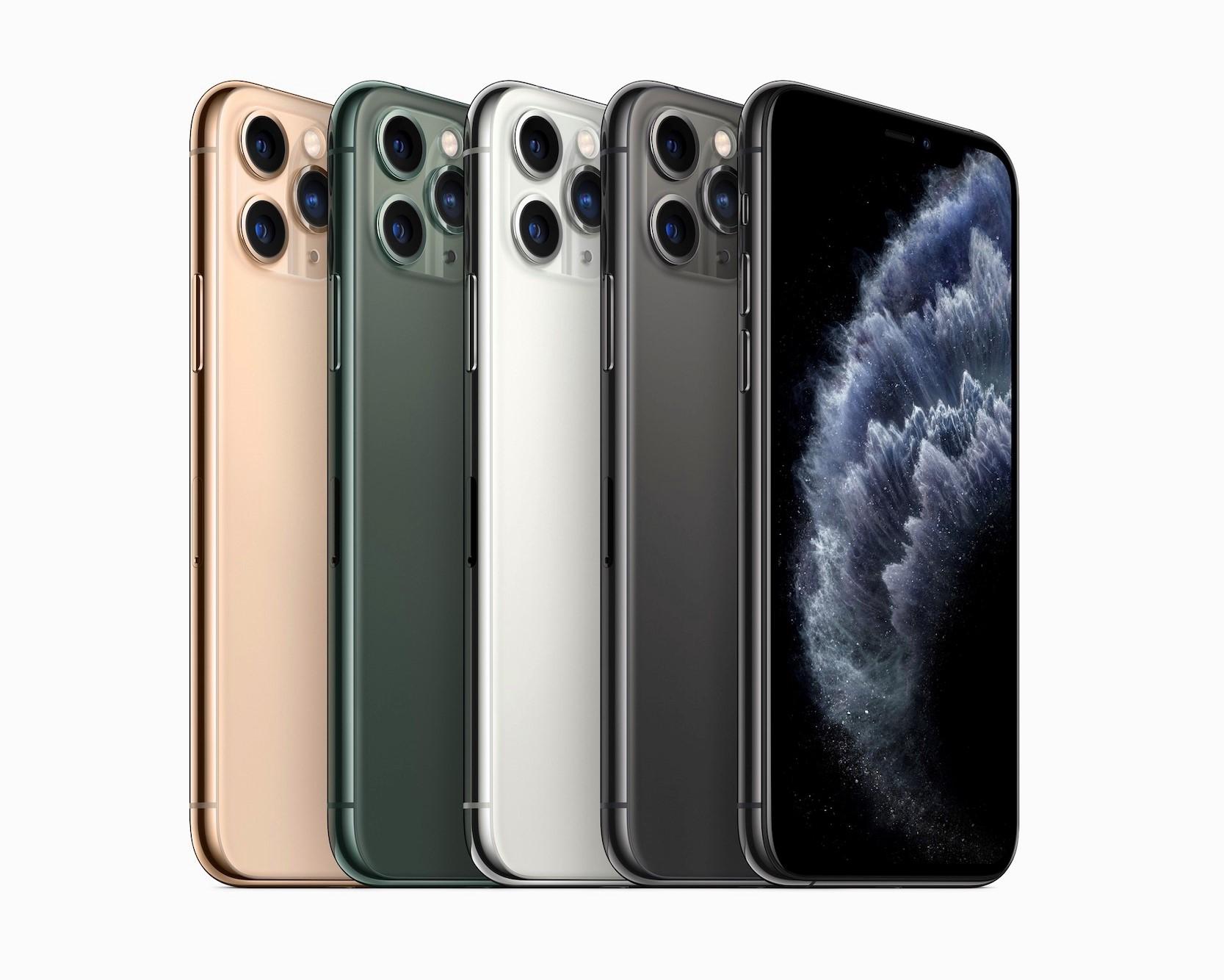 256 GB 版 iPhone 11 Pro 在美国最受欢迎