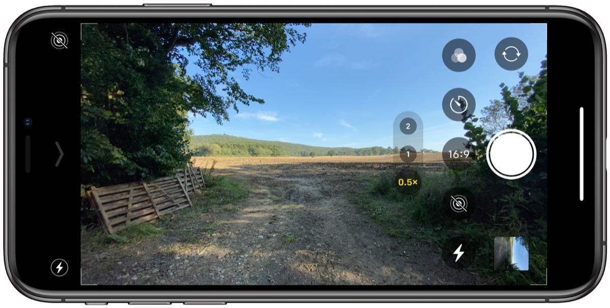 如何在 iPhone 11 和 iPhone 11 Pro 上拍摄不同长宽比的照片?
