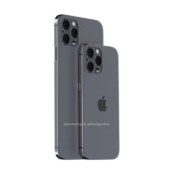 沒有劉海的 iPhone 12 渲染圖曝光:外觀致敬 iPhone 4