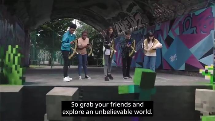 AR手游《我的世界 地球》宣传片公开 10月开启抢先测试