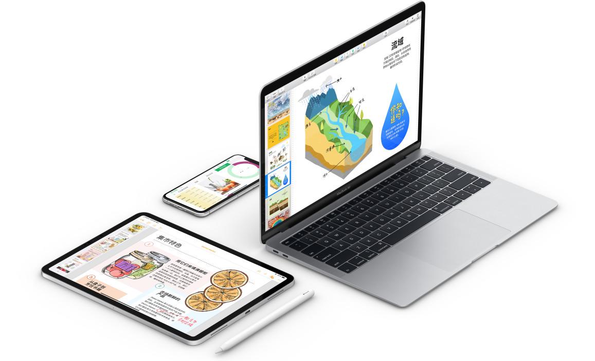 蘋果iWork三大件更新,全面支持iPadOS/iOS 13
