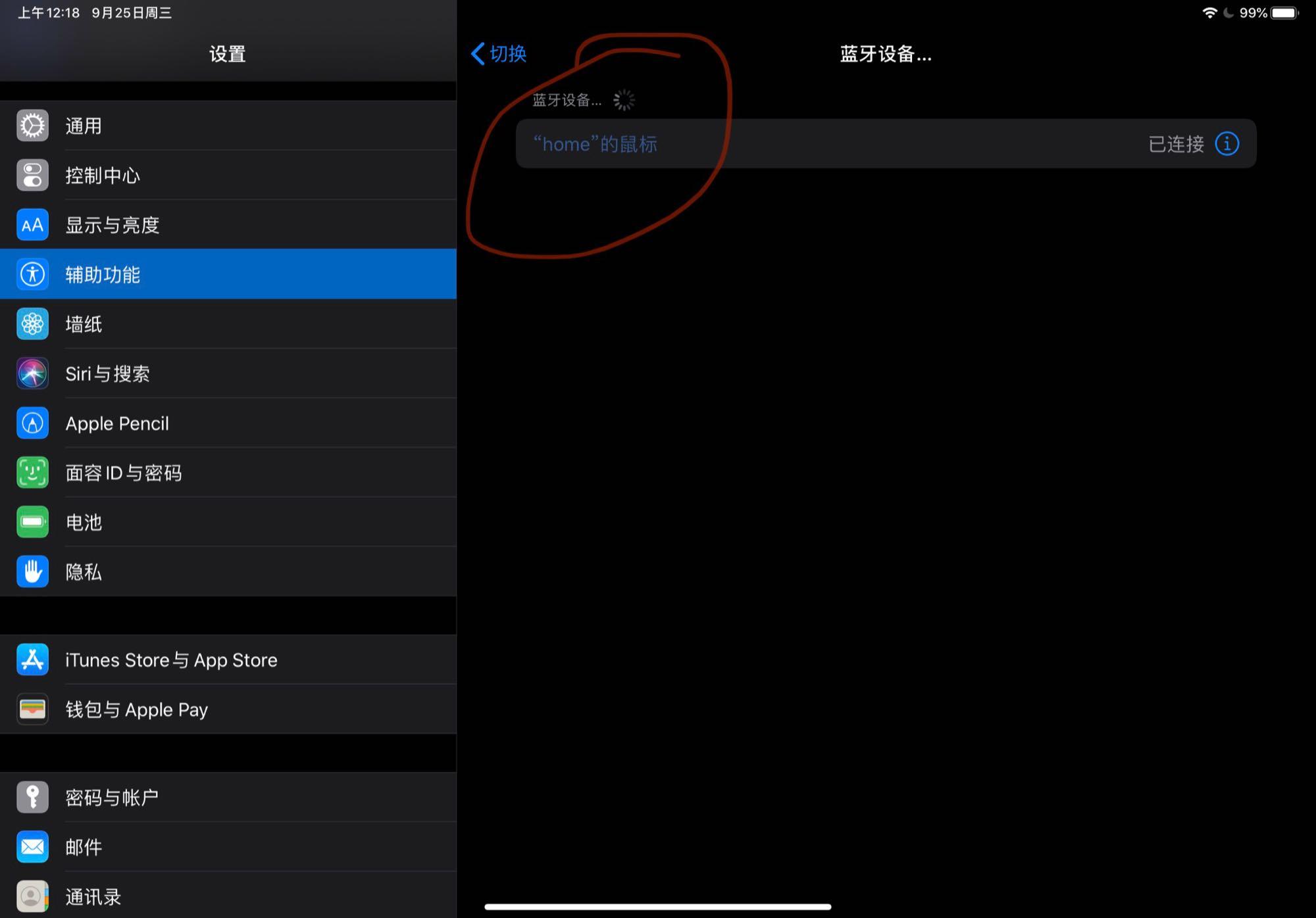 iPad 如何连接自家 Magic mouse 2?