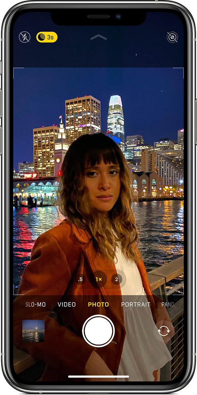 iPhone 11 全新相机功能:如何快速录制以及连拍照片?