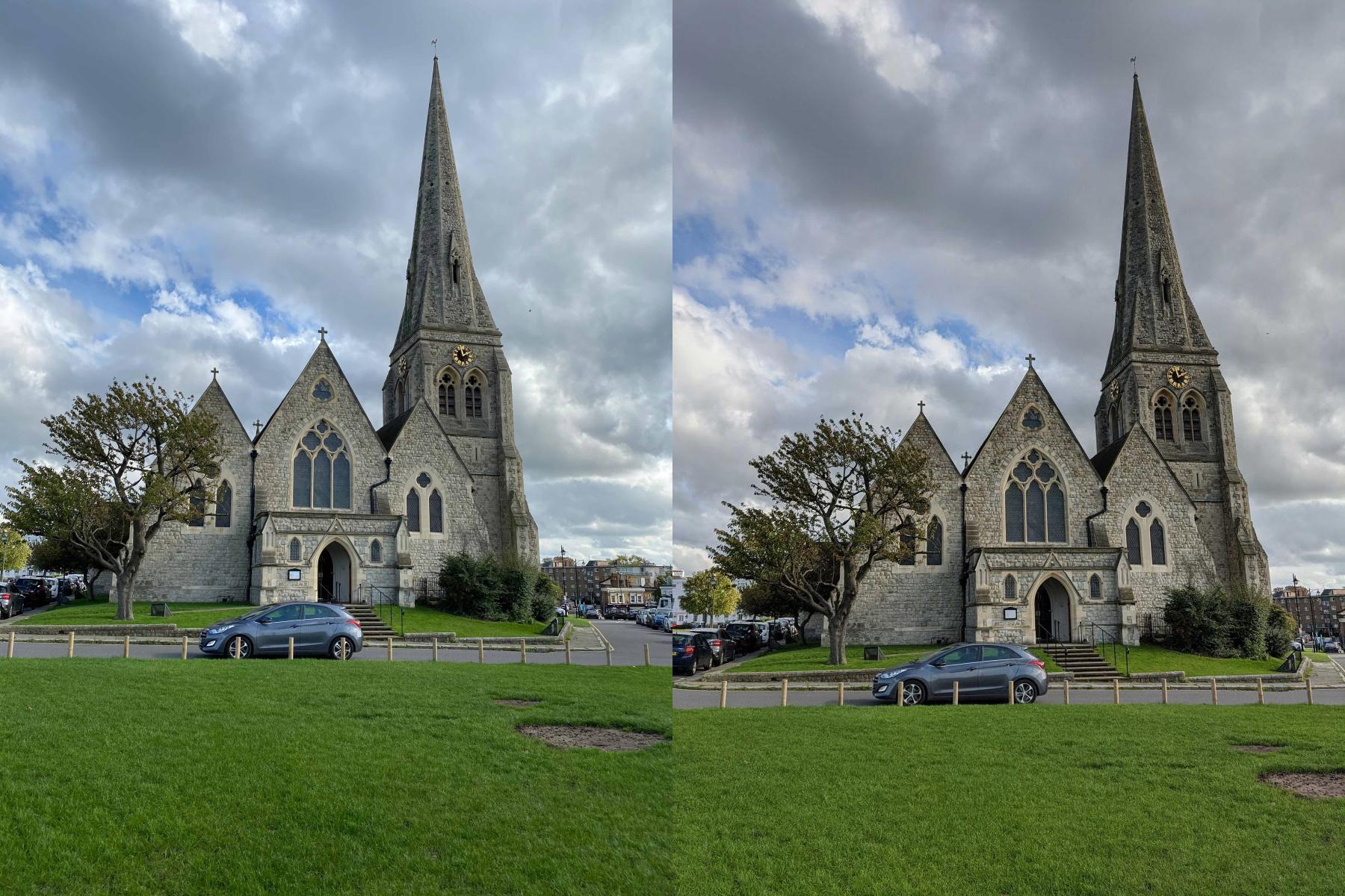 谷歌 Pixel 4 vs 苹果 iPhone 11 Pro 拍照对比