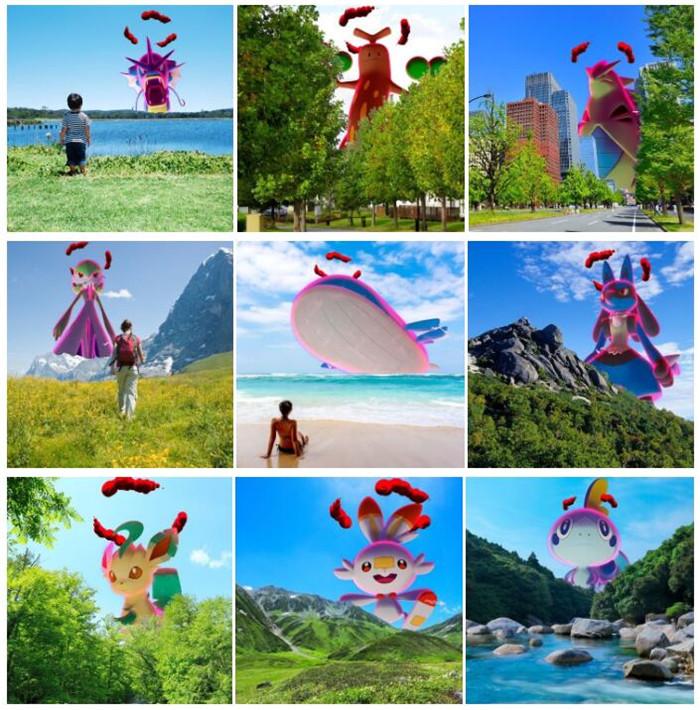 《Pokémon 极巨化相机》近日公开中文官网页面