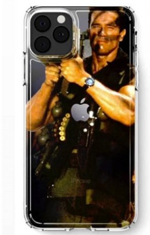 """施瓦辛格本人用上 iPhone 11 Pro """"火箭筒""""手机壳"""
