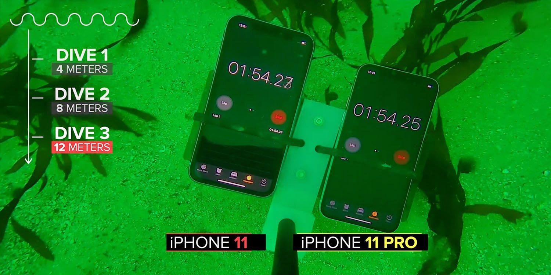 測試表明:iPhone 11 系列的抗水表現比蘋果宣稱得更好