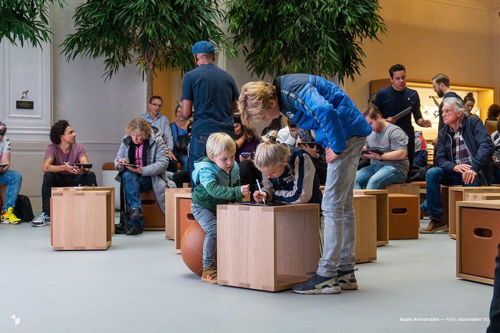 阿姆斯特丹的 Apple Store 现以全新面貌亮相