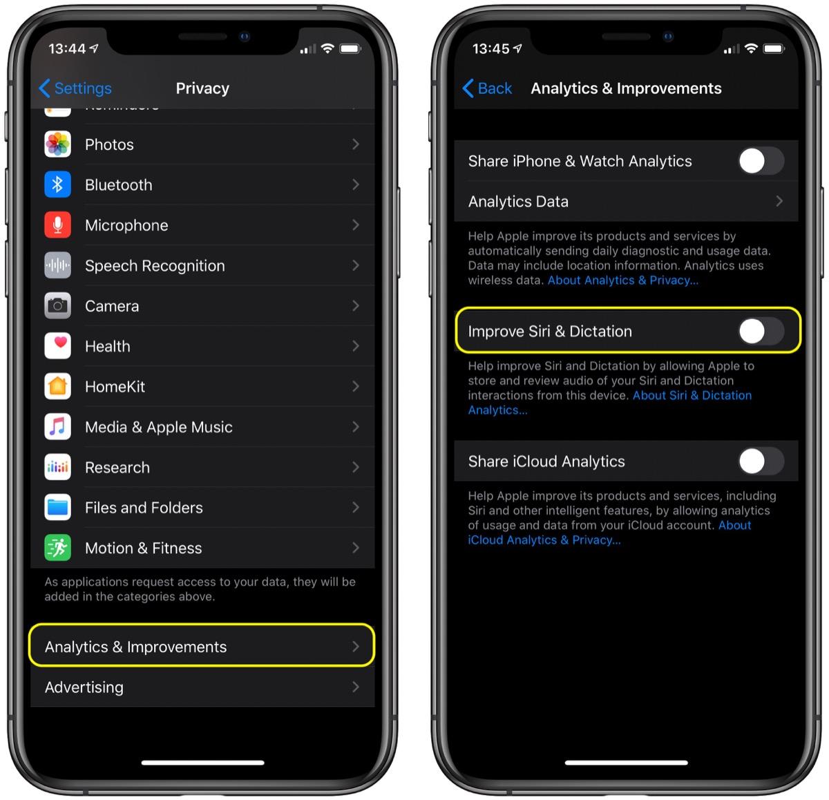 如何删除 Siri 音频历史记录并选择退出 Siri 音频共享?