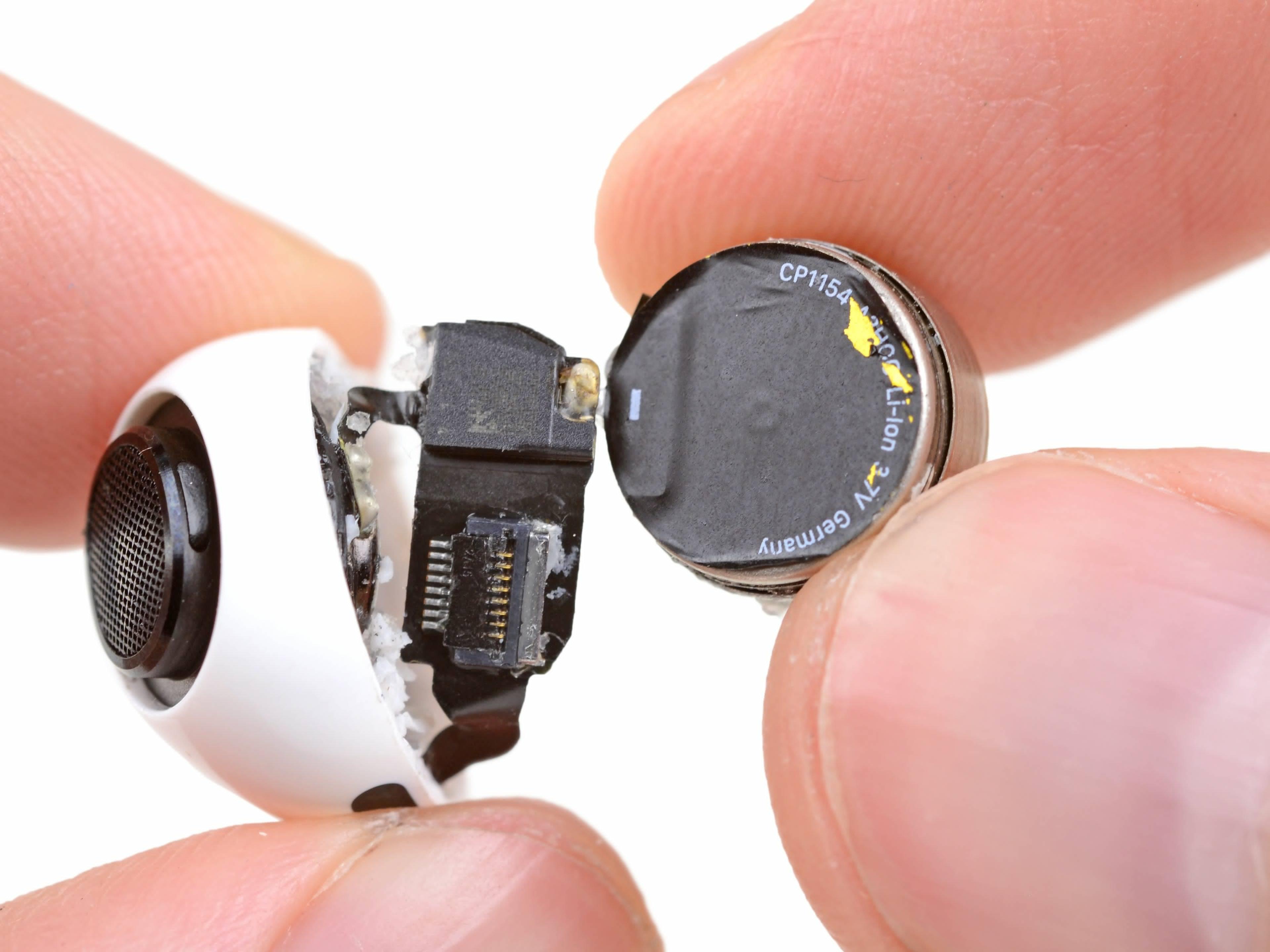 电池大变样:苹果 AirPods Pro 拆解报告