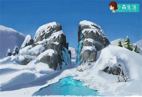 冬天来啦 康康《小森生活》白雪美景如何诞生的