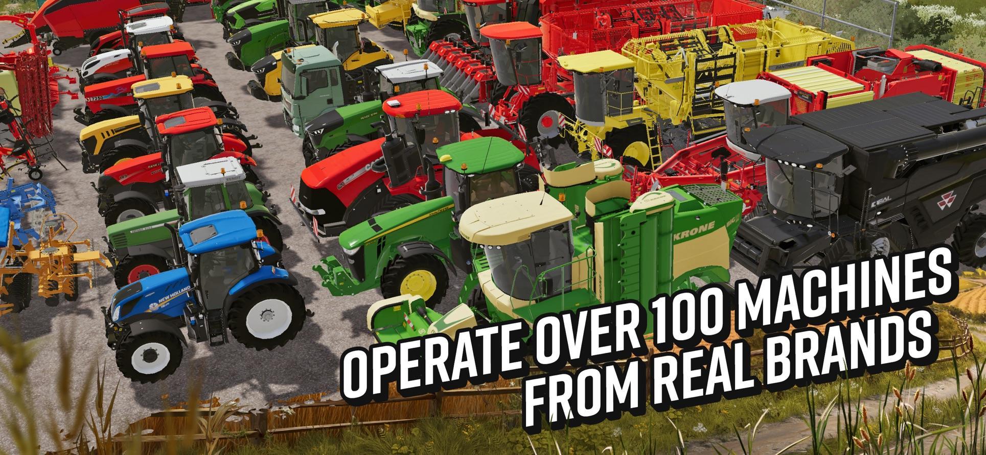 还是种田有意思 《模拟农场 20》手机版即将登场