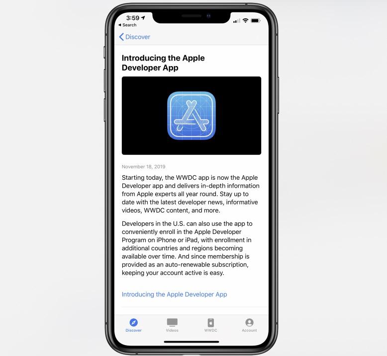 Apple 发布全新 WWDC 应用,并更名为「Apple Developer」