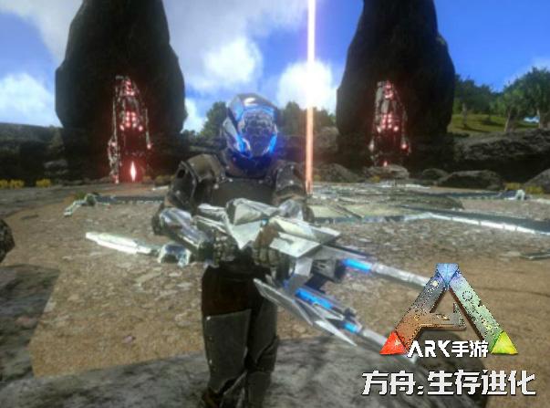 最强BOSS再现《方舟:生存进化》手游,能无限发射子弹的泰克枪登场