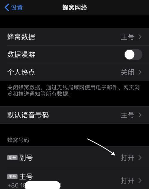 iPhone 11的双卡双待功能怎么用?如何设置?