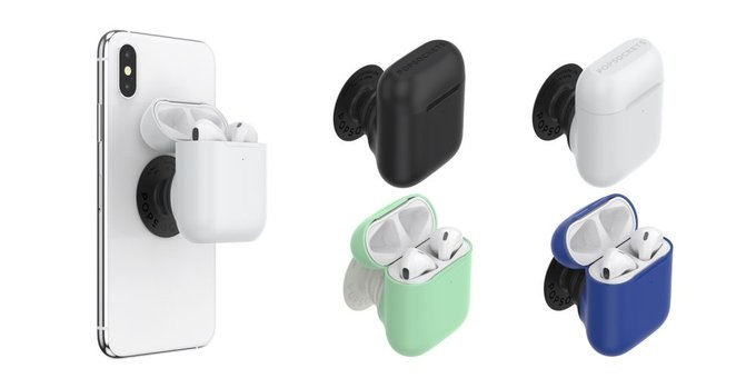 PopSoket 推出配件,能够将 AirPods 变成 iPhone 的支架