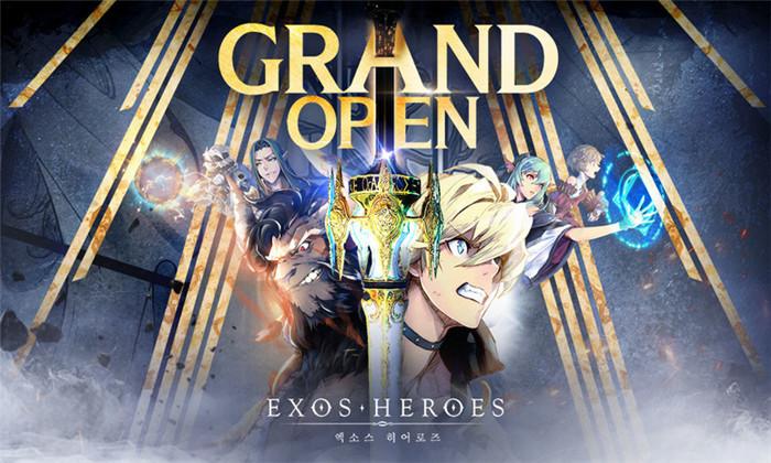 《Exos Heroes》于韩国上线 将于明年推出国际服