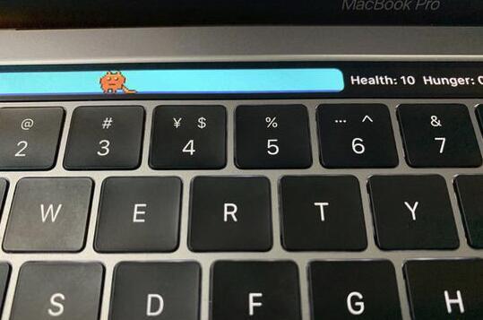 重温童年的快乐:MacBook 触控条可以养电子宠物