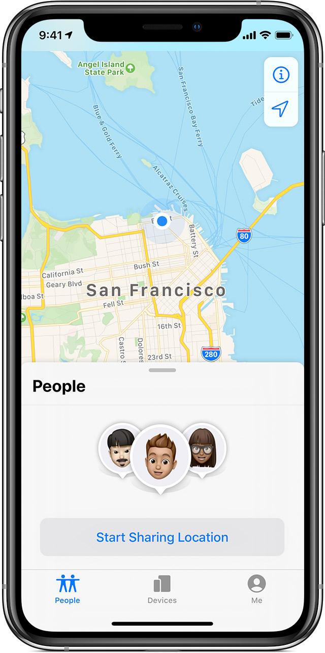 苹果实用技巧:为什么 iOS 13 中没有查找我的朋友应用图标了